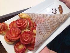 【試してみた】話題の薔薇のアップルパイ。びっくりするくらい簡単に作れる!