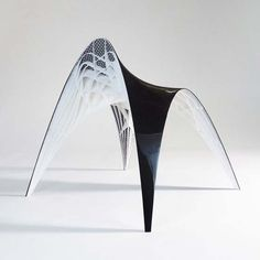 """Inspired by Gaudi's """"hanging chain"""" model: Gaudi Chair and Stool"""