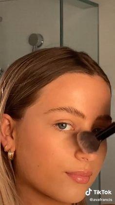 Makeup Eye Looks, Full Face Makeup, Cute Makeup, Gorgeous Makeup, Pretty Makeup, Skin Makeup, Beauty Makeup, Hair Beauty, Natural Dewy Makeup
