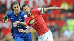Manchester United perdió 3-0 ante Everton por la Premier League. April 26, 2015.
