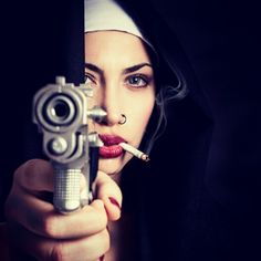 Bad Ass Nun - http://gd.is/gKHyfR -
