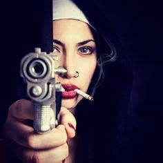 Bad Ass Nun - http://gd.is/gKHyfR -