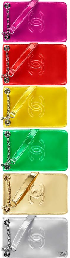 Chanel ● SS 2014, Phone cases
