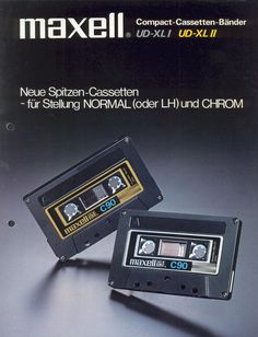 Good old Maxell Tapes