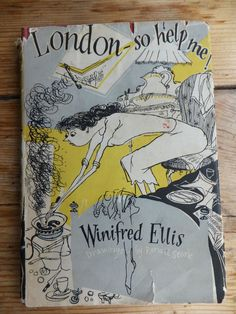 1956 book LONDON SO HELP ME  Ronald Searle cartoons illustrations