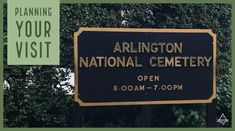Arlington National Cemetery stays open later than many of the other museums and attractions in Washington DC, so it is a good early evening activity. Check out: Planning a Visit to Arlington Cemetery - TRIPS TIPS and TEES Plan A, How To Plan, Washington Dc Travel, National Cemetery, Amazing Adventures, Travel Information, Best Vacations, Budget Travel, Museums