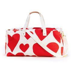 the getaway duffle bag - extreme supercute hearts