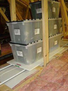 Attic Trac Plus Attic Storage System