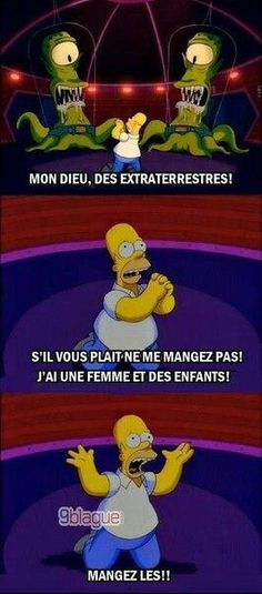 Homer being Homer… The Simpsons never fails to make you giggle! The Simpsons, Simpsons Funny, Simpsons Quotes, Learning French For Kids, Teaching French, Simpson Tumblr, Funny Jokes, Hilarious, Funny Shit