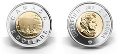 Canadian Coin Collection: 2006 - Two New Coins for the Anniversary of the Two-Dollar Circulation Coin Queen's Coronation, Canadian Coins, Two Dollars, End Of An Era, Bear Design, Effigy, Dollar Coin, 10 Anniversary, Coin Collecting
