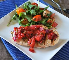 Hatch Chile-Strawberry Chicken #hatchmatch