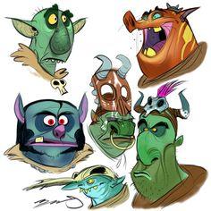 Cartoonist and Designer Character Design Sketches, Character Design References, Art Sketches, Character Reference, Sketch Inspiration, Character Design Inspiration, Disney Pixar, Illustrations, Illustration Art