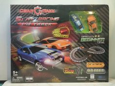 Slot Racing 1:43 track set 9.3 feet parameter Official licensed New in box 2014 #GearGMaxx