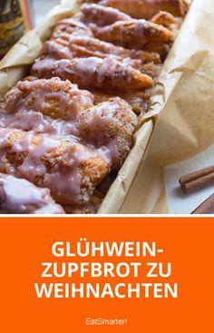 Glühwein-Zupfbrot zu Weihnachten | eatsmarter.de