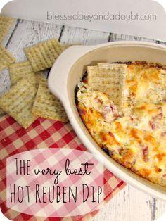 Delicious Hot Reuben Dip Recipe