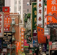 Chinatown NYC...not sure if I really liked it that much to be honest