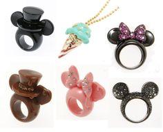 Mickey Ears Rings