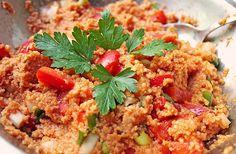Bulgursalat, ein tolles Rezept aus der Kategorie Gemüse. Bewertungen: 411. Durchschnitt: Ø 4,4.