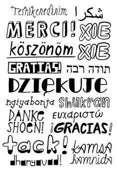 - hand lettering - kelly lasserre