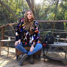 What an awesome Christmas day  In Eaves coat from @revolveclothing #TheBlondeSaladGoesToMalibu #AmericanDays #RevolveAroundTheWorld