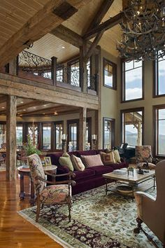 Log Home Designs Rustic Timber Framed Homes