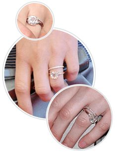 Celebrity Engagement Rings Accessories Pinterest Celebrity