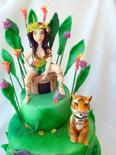 Katy Perry cake by PerlaMorales