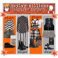 """""""Hayley Williams inspired outfits"""" by tips-tips-tipss on Polyvore"""
