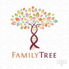 Family Tree genetics | StockLogos.com