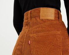 Levi's® highest high rise with a stylish wide leg Iconic leather patch at back waist Haley Lu Richardson, Corduroy Pants, Harem Pants, Autumn Winter Fashion, New Wardrobe, What To Wear, Vintage Outfits, Cute Outfits, Fashion Outfits