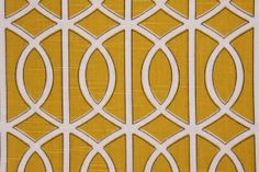Robert Allen Bella Porte Printed Cotton Drapery Fabric in Citrine $17.95 per yard