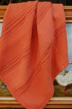 Baby Blanket-Rust on Etsy, $300.00
