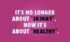 Concentrate on getting healthy and the rest will follow