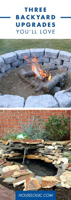 These DIY landscaping ideas are easy projects that'll enhance the enjoyment of your outdoor spaces. Get more great ideas at HouseLogic.