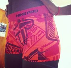 Nike pros ❤ OMG. Not even funny how much i love these.