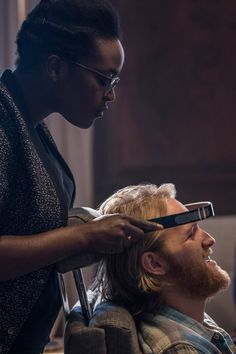 "If Horror Fans Know What's Good For Them, They'll Watch Black Mirror's ""Playtest"" – Poster Black Mirror Show, Series Movies, Tv Series, Netflix, Mirror Tv, Movie Black, White Eyes, Best Series, Photoshoot Inspiration"