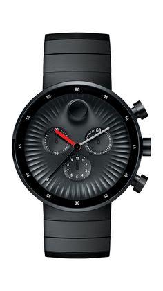 Movado Edge Chronograph designed by Yves Behar