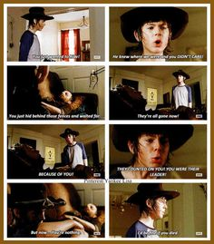 Carl Grimes - Chandler Riggs - AMC's The Walking Dead