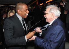 Jay-Z (with Warren Buffett)