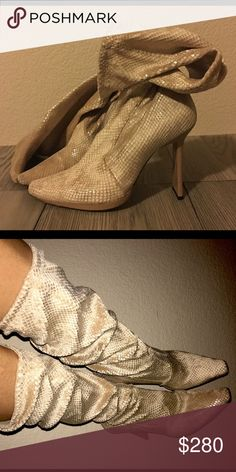 Casadei boot Casadei boot Italian made vero cuoio. Soft fitted, patent camel heel. You can wear scrounged or straight. great condition. Casadei Shoes Heeled Boots