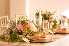 Timeless Blush and Gold Wedding Ideas via TheELD.com | Pure In Art Photography
