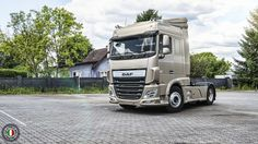 DAF XF SC (Space Cab) Euro 6 rendered in KeyShot by Gianluca Negroni.