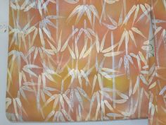 Lovely Gradation Dyed Wax Batik Bamboo Pattern Silk Haori Kimono Jacket Vintage Japanese by DianesGemsAndFibers on Etsy