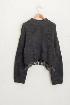 Olive - Tassel Detail Knit Jumper, Charcoal, £59.00 (http://www.oliveclothing.com/p-oliveunique-20151210-037-charcoal-tassel-detail-knit-jumper-charcoal)