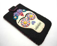 Frida Sugar Skull Iphone Case Frida iphone case by romualda, $30.00
