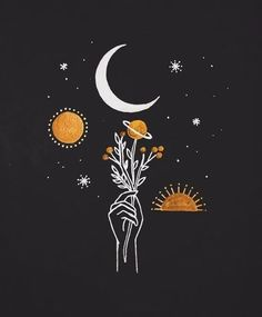 Take some time to get creative and rest your mind from all the outer worries of your life. Here is a list of 55 Cool Easy Things to Draw Black Aesthetic Wallpaper, Aesthetic Iphone Wallpaper, Aesthetic Backgrounds, Aesthetic Wallpapers, Black Paper Drawing, Small Canvas Art, Moon Art, Easy Drawings, Cute Wallpapers