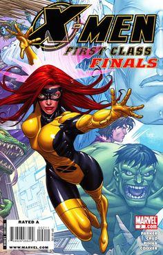 X-Men: First Class Finals # 2 by Roger Cruz