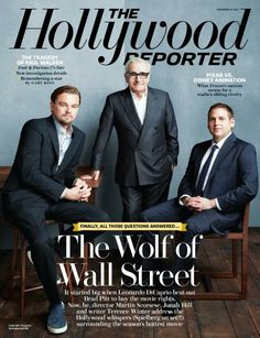 The Hollywood Reporter - The Wolf of Wall Street, Martin Scorsese, Leonardo DiCaprio, Jonah Hill