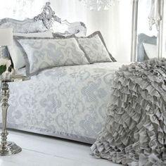 Star by Julien Macdonald Ivory 'Gatsby' bed linen- at Debenhams Mobile