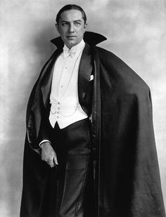 Bela Lugosi as Dracula during his stage days, before the 1931 movie had been filmed